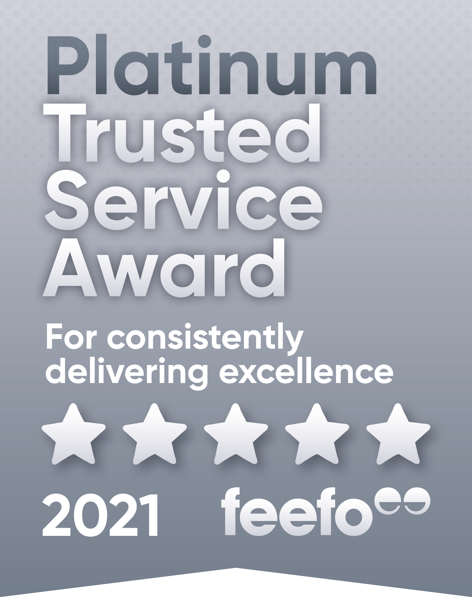 THERE'S GOOD SERVICE. THEN THERE'S TRUSTED SERVICE. HP GET PLATINUM!