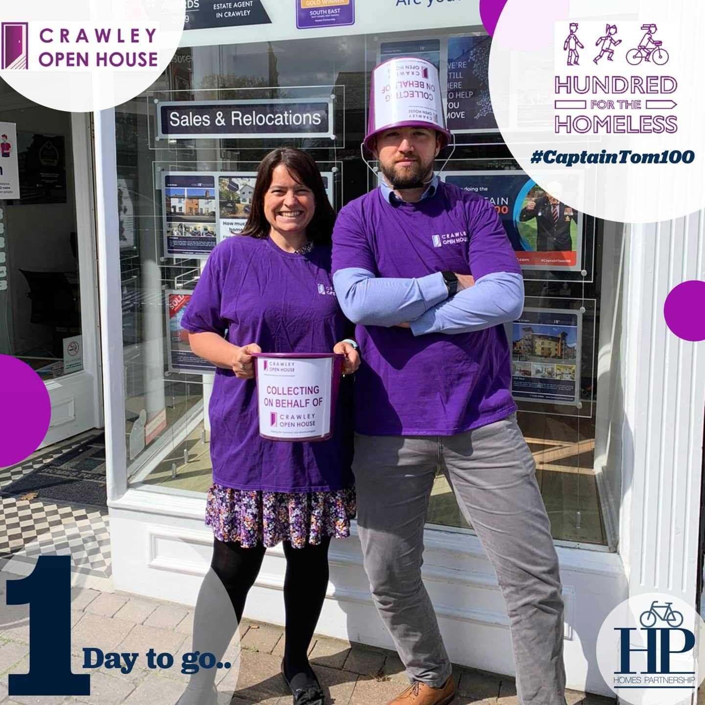 £755.60 RAISED BY HP FOR CRAWLEY OPEN HOUSE!